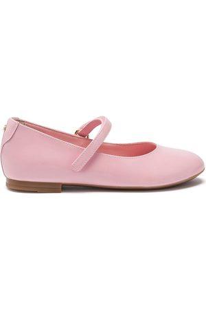Dolce & Gabbana Leather ballerina shoes