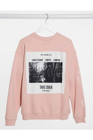 The Couture Club Oversized sweatshirt in