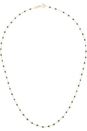 GIGI CLOZEAU 18K yellow Classic Gigi beaded necklace