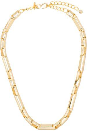 Kenneth Jay Lane Interlocking-links chain necklace