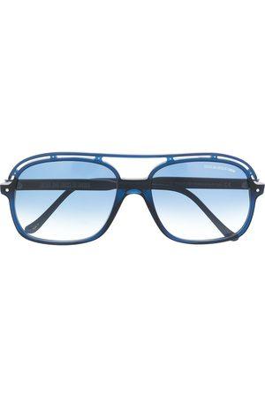 CUTLER & GROSS Cut-out detail aviator sunglasses