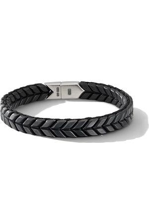 David Yurman Men Bracelets - Chevron woven bracelet