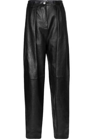 MAGDA BUTRYM High-rise leather pants