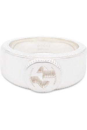 Gucci Interlocking-G sterling ring