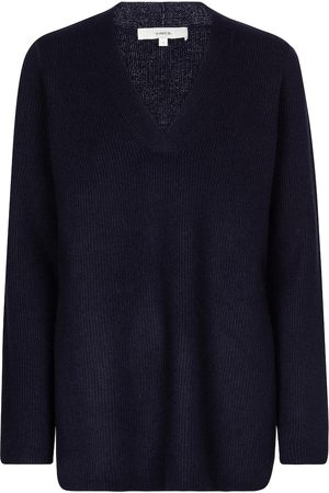 Vince Ribbed-knit wool and cashmere sweater