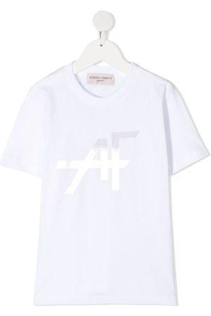 Alberta Ferretti Logo-print T-shirt