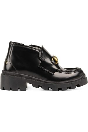 Gucci Horsebit lug-sole boots