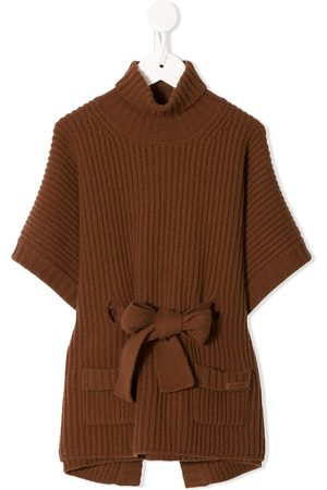 Dolce & Gabbana Belted knitted poncho