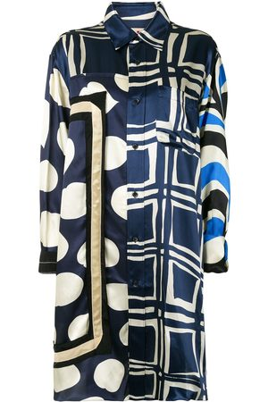 Marni Mix-print shirt dress