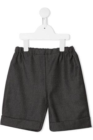 SIOLA Elasticated-waist shorts