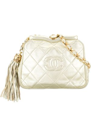 Chanel Pre-Owned 1990 diamond quilted CC belt bag