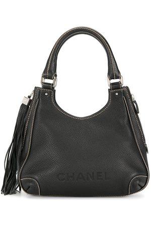 CHANEL 2003-2004 tassel detail tote bag