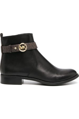 Michael Kors Logo-buckle ankle boots
