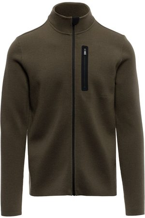 Aztech Zip-up knitted outdoors jumper