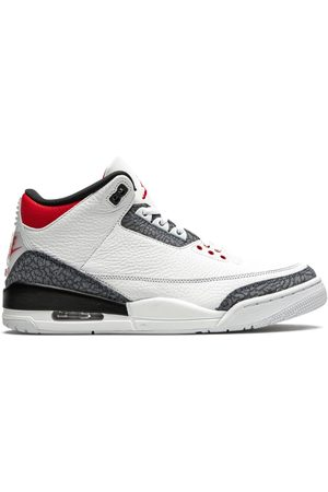 "Jordan Air 3 SE ""Fire Red Denim"" sneakers"