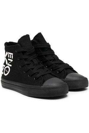 Kenzo Logo hi-top sneakers