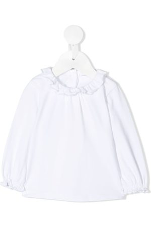 KNOT Sori ruffle-trimmed blouse