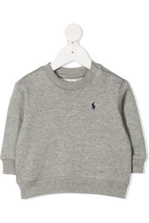 Ralph Lauren Logo embroidered crew neck sweatshirt