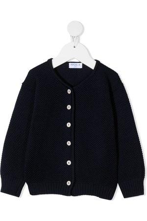 SIOLA Purl-knit cardigan