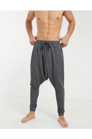 ASOS DESIGN Lounge drop crotch pyjama bottoms in