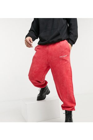 COLLUSION Oversized joggers in acid wash
