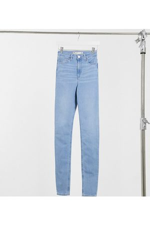 ASOS Tall ASOS DESIGN Tall high rise 'ridley' skinny jeans in stonewash