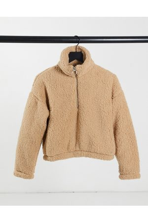Hollister Reversible textured hoodie in