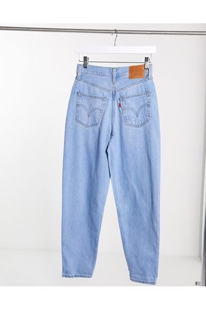 Levi's Levi's high loose tapered jean in lightwash blue