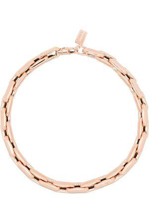 Lauren Rubinski 14kt rose gold chain-link necklace