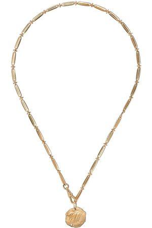 Pascale Monvoisin 9kt yellow diamond Initiale Nº2 necklace