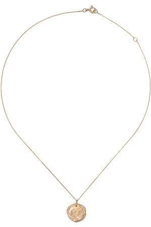 Pascale Monvoisin 9kt yellow diamond Initiale Nº5 necklace