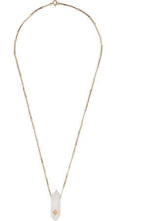 Pascale Monvoisin 9kt yellow diamond Prana Nº2 necklace
