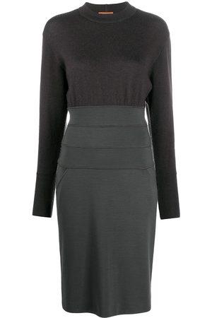 Missoni 1980s knee-length knitted dress