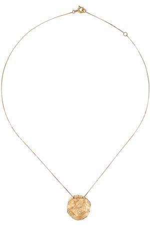 Pascale Monvoisin 9kt yellow and rose gold garnet Izia necklace