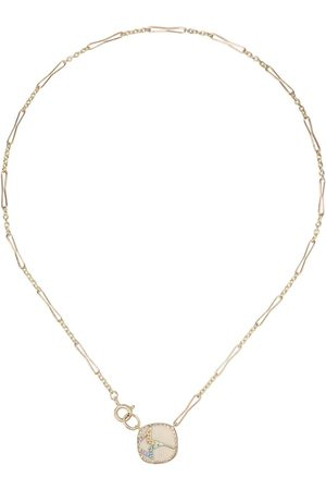 Pascale Monvoisin 9kt yellow diamond Varda Nº necklace