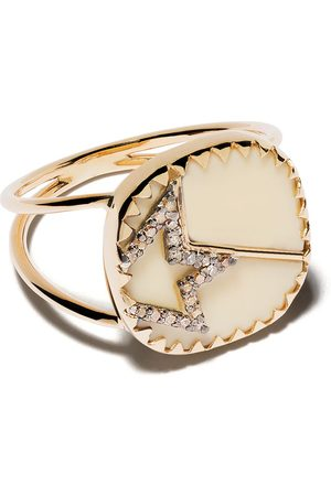 Pascale Monvoisin 9kt yellow diamond Varda Nº2 ring