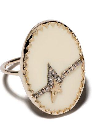 Pascale Monvoisin 9kt yellow diamond Varda Nº 3 ring