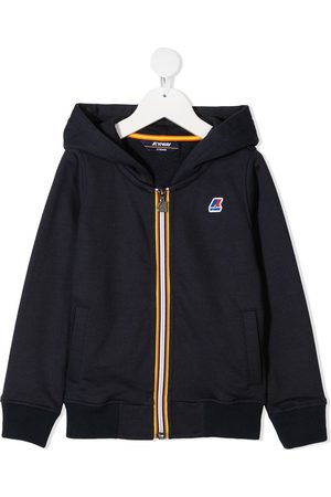 K-Way Logo-patch hooded jacked