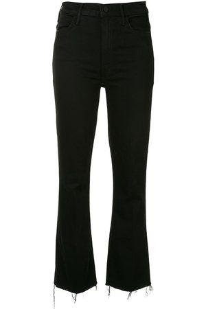 Mother Women Bootcut & Flares - Hustler ankle-crop kick flare jeans