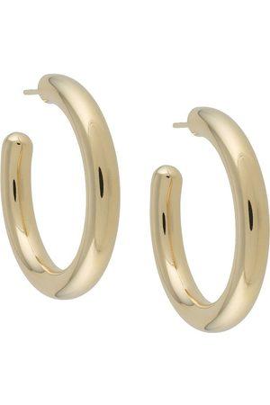 Maria Black Ruby 35 hoop earrings