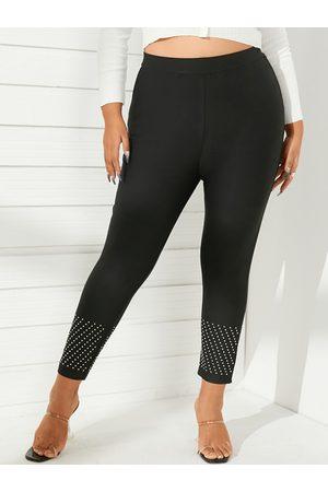 YOINS Plus Size Bodycon Fit Leggings