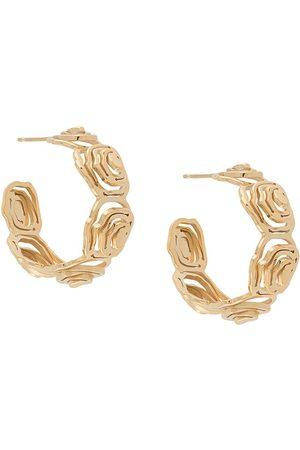 KAY KONECNA Elena hoop earrings