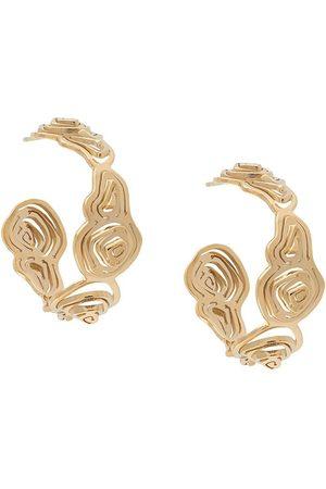 KAY KONECNA Pia hoop earrings