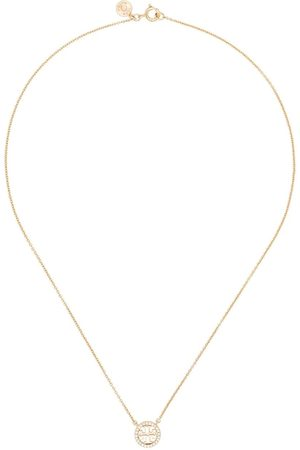 Tory Burch Miller Pave crystal-pendant necklace