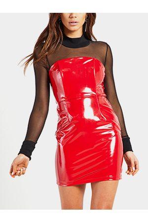 YOINS Off The Shoulder Bodycon Mini Dresses