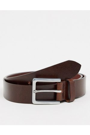 Farah Langer classic leather belt in