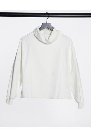 ASOS DESIGN Women Sweatshirts - Structured high neck cosy sweatshirt in winter