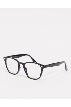 AJ Morgan Blue light round glasses in