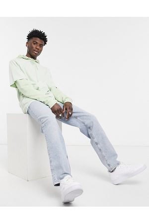 ASOS Dad jeans in bleach 90's wash