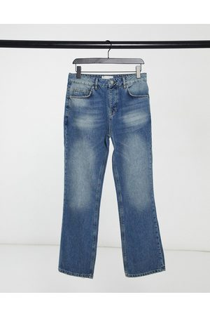 ASOS Bootcut jeans in mid wash